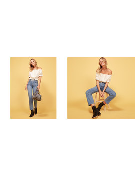 Cynthia High Relaxed Jean by Reformation