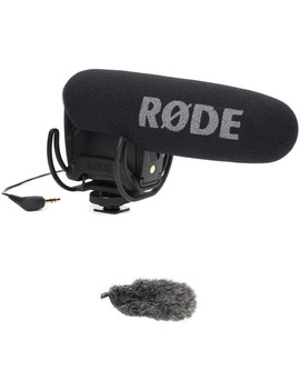 Video Mic Pro With Lyre Suspension Mount &Amp; Dead Cat Windshield Kit by Rode