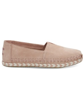 Bloom Nubuck Leather Women's Espadrilles by Toms