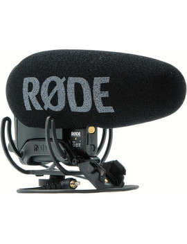 Video Mic Pro Plus On Camera Shotgun Microphone by Rode
