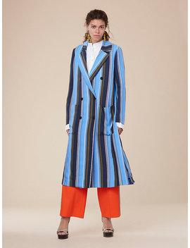 Long Sleeve Floor Length Jacket by Dvf