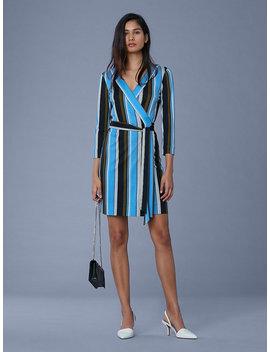 Julian Silk Jersey Mini Wrap Dress by Dvf