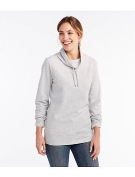 Ultrasoft Sweats, Funnelneck Pullover by L.L.Bean