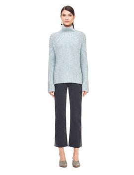 La Vie Rib Turtleneck Pullover by Rebecca Taylor