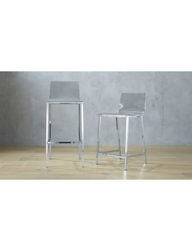 Vapor Acrylic Bar Stools by Crate&Barrel