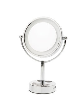 Led Bluetooth Speaker Makeup Mirror by Danielle Enterprises