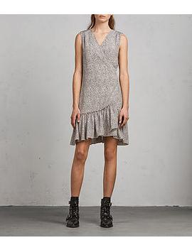 Rene Leodot Silk Dress by Allsaints
