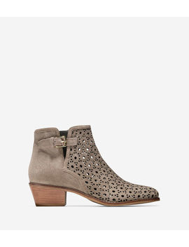 Willette Perforated Bootie (45mm) by Cole Haan