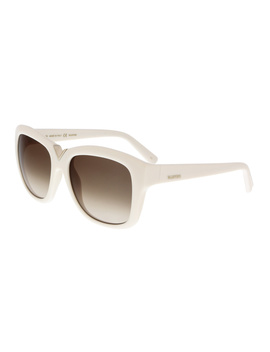 V684s 103 Ivory Square Sunglasses by Valentino