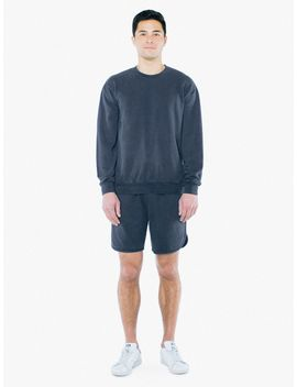 french-terry-crewneck-pullover by american-apparel