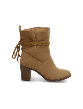 Toffee Suede Women's Mila Boots by Toms