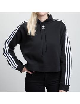 Womens Adidas Cropped Hoodie by Adidas
