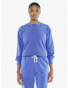Unisex French Terry Crewneck Pullover by American Apparel
