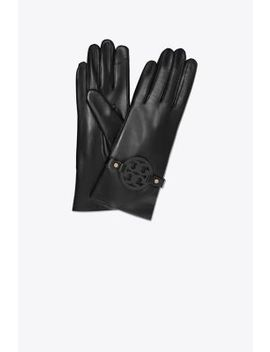 Miller Leather Glove by Tory Burch