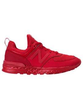 Boys' Grade School New Balance 574 Sport Casual Shoes by New Balance