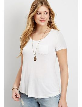 The 24/7 Pocket Tee by Maurices