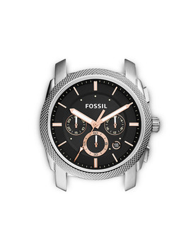 Machine Chronograph Stainless Steel Case by Fossil