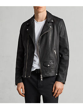Milo Leather Biker Jacket by Allsaints
