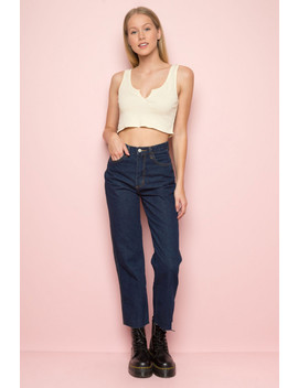 Hazel Denim Pants by Brandy Melville