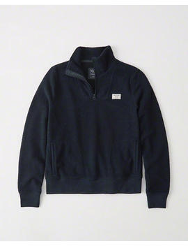 Sherpa Half Zip by Abercrombie & Fitch