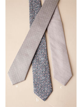 Tie Bar Grey Collection by Bhldn