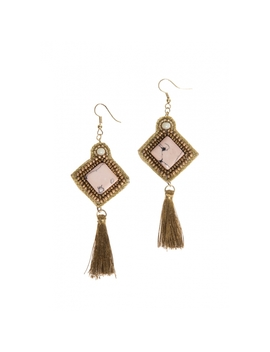 Drop Earrings In Gold by Wet Seal