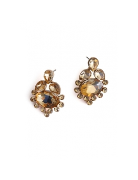 Soleil Stud Earrings by Wet Seal