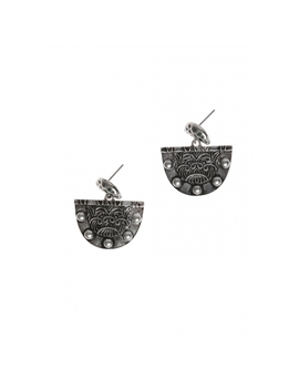Drop Earrings In Silver by Wet Seal