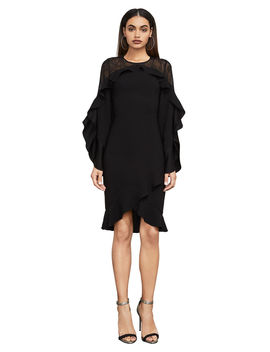 Delaney Lace Inset Dress by Bcbgmaxazria