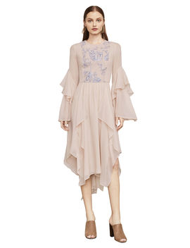 Nel Embroidered Handkerchief Dress by Bcbgmaxazria