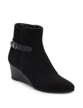 Dixie Nubuck Leather Booties by Dolce Vita
