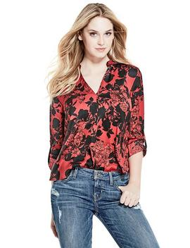 Brooke Button Up Blouse by Guess