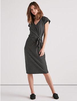 Side Knot Knit Dress by Lucky Brand