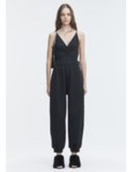 Exclusive Shirred Front Sleeveless Bodysuit by Alexander Wang