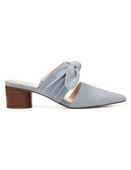 Zeal Pointy Toe Mules by Nine West