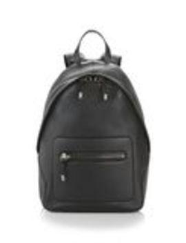 Berkeley Backpack In Pebbled Black With Rhodium by Alexander Wang