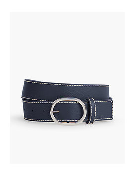 Pebble Leather Belt by Talbots