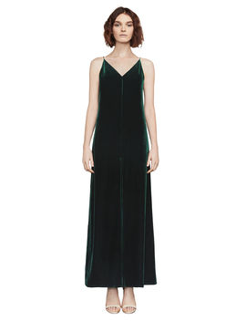Malory Velvet Maxi Dress by Bcbgmaxazria