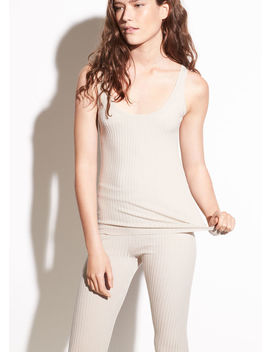 Ribbed Wool Tank by Vince