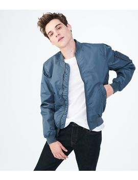 Solid Bomber Jacket by Aeropostale