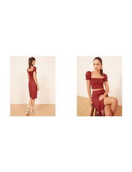 Suki Two Piece by Reformation