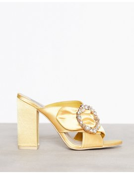 Satin Embellished Mule by Nly Shoes