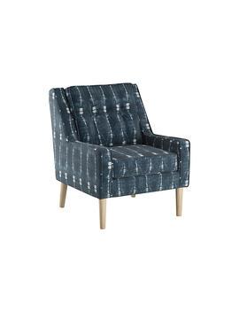 Shara Accent Chair, Indigo by One Kings Lane