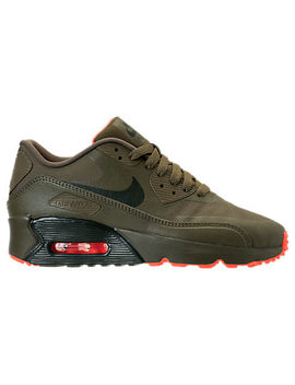 Boys' Grade School Nike Air Max 90 Ultra 2.0 Le Casual Shoes by Nike