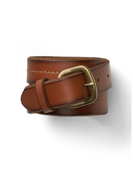 Classic Leather Belt by Gap