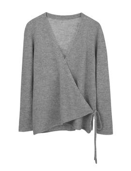 Merino Cashmere Wrap Cardigan by Cuyana