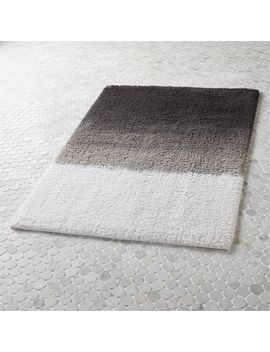 Ombre Bath Mat by Crate&Barrel
