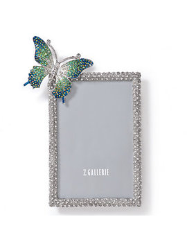 Butterfly Jeweled Frame by Z Gallerie