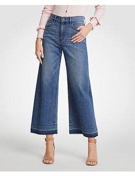 Released Hem Wide Leg Jeans by Ann Taylor