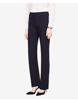 The Straight Leg Pant In Stretch Cotton Twill by Ann Taylor